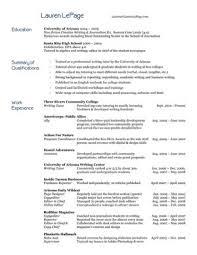 Resume For A Tutor Resume Sample