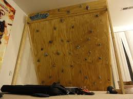 picture of freestanding indoor rock climbing wall for 150