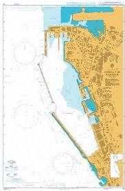Admiralty Chart 45 Gibraltar Harbour Todd Navigation
