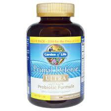 garden of eden probiotics. Garden Of Life, Primal Defense, Ultra, Ultimate Probiotic Formula, 216 UltraZorbe Vegetarian Eden Probiotics V