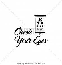 Eye Test Chart Vector Photo Free Trial Bigstock