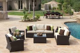 Outdoor Living Room Furniture Beautifying Your Outdoor Living Space Palm Casual