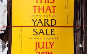 Designer Garage Sale Chicago This That Yard Sale On Student Show