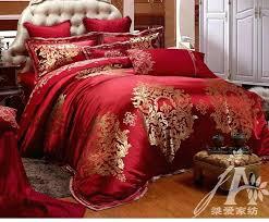 rosalie paisley duvet cover kingcal king red silk wedding bedding sets red duvet cover sets king