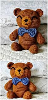 Crochet Bear Pattern Inspiration 48 Free Crochet Teddy Bear Patterns DIY Crafts