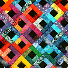 I really love the bright colors and the contrast of this quilt ... & I really love the bright colors and the contrast of this quilt! Adamdwight.com
