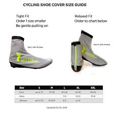 Reflectoes Full Reflective Winter Cycling Shoe Covers For Cycling Version 2 Waterproof Windproof Overshoes With 4 Way Stretch Material Rear