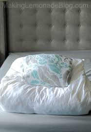 how to cover a duvet the easy way two minute what do you put