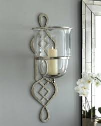 decorative wall candle holders decorative wall sconces glass home wall candle sconces with glass