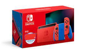 Nintendo Switch, Mario Red & Blue ...