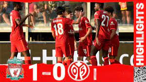 Highlights: Liverpool 1-0 FSV Mainz 05 | Late goal wins it for the Reds -  YouTube