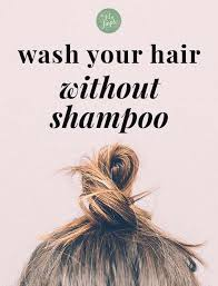 how to wash your hair without shoo been going strong for over 7 years now