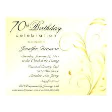 70 Birthday Invitation Sayings Birthday Party Invitation Birthday