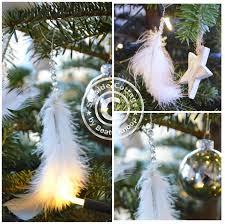 Unser Tannenbaum Und Ein Weihnachtsschmuck Diy Aus Federn
