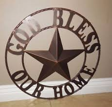 image is loading 24 034 god bless our home metal wall  on bless this home metal wall art with 24 god bless our home metal wall art rustic bronze western home