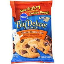 peanut butter cup cookies pillsbury. Interesting Pillsbury Pillsbury Big Deluxe Peanut Butter Cup Cookie Dough 12ct With Cookies B