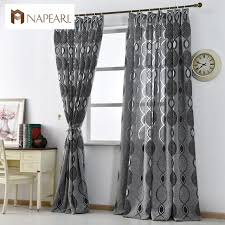 Black living room curtains Rod Stick Modern Curtain Home Decoration Living Room Curtains Window Fabric Black Ready Luxury Curtain Window Treatments Brand New Fashion Aliexpress Modern Curtain Home Decoration Living Room Curtains Window Fabric