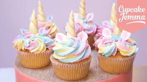 cupcakes. Interesting Cupcakes Cute Unicorn Cupcakes With Magic Horns And Ears  Cupcake Jemma Inside A