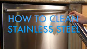 How To Clean Stainless Steal How To Clean Stainless Steel Using Thor Stainless Steel Cleaner