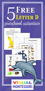 5 Free Preschool Worksheets For Preschool Alphabet Letter D