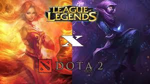 diferen as entre league of legends e dota 2 youtube