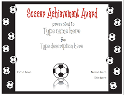 soccer awards templates 28 images of soccer printable gift certificate template leseriail com