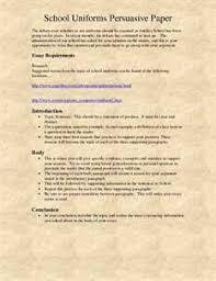 persuasive essay on school uniforms essays words