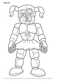 Fnaf Coloring Pages Inspiring Coloring Pages Cool Puppet Coloring