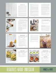 Microsoft Publisher Cookbook Template Cookbook And Recipe Template For Adobe Indesign Instant