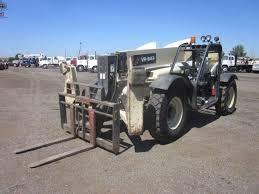 Ingersol Rand Forklift 2003 Ingersoll Rand Vr 843 4x4 Telescopic Forklift