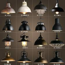 vintage rustic metal lampshade pendant lamp lights retro throughout industrial light decorations