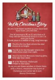 It is one of my favouite footprint christmas cards. M M Christmas Story
