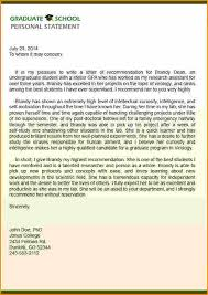 Sample Letters Of Recommendation For Graduate School New