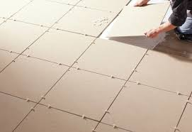 before you tile any floor you must first lay out the tiles to gauge size and fit no matter what kind of tile you are installing the layout procedures