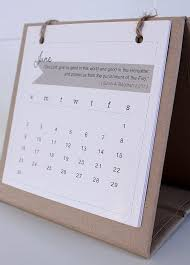 small standing desk calendar mini with stand on natural recycle brown small standing desk calendar 2017