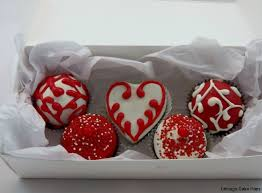 Valentines In A Box With A Heart Indy Cakepops