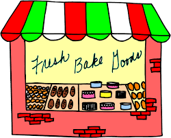 Bakery Storefront Clip Art Library