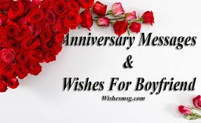 Anniversary Love Quotes Stunning Anniversary Messages For Boyfriend Romantic Wishes WishesMsg