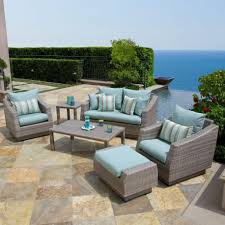 Enchanting Gray Wicker Patio Furniture