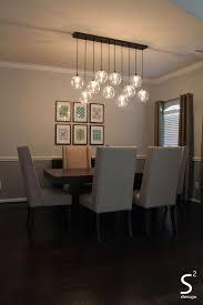 Lighting Scenic Best Dining Table Lighting Ideas On Pinterest Room 7