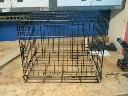 dog crate end table large free belham living bartlett square end