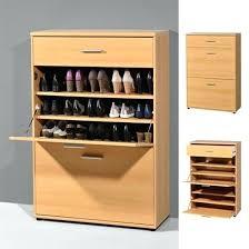 white shoe cabinet furniture. Shoe Cabinet Storage Furniture Of 5 Shelf With 2 Bins Photo White