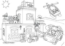 15 Lovely Lego City Coloring Pages Coloring Page