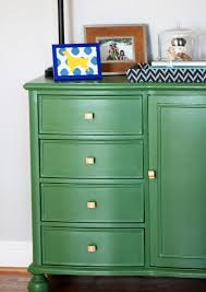 green painted furniture. Making Over The Interior With DIY Painted Furniture Ideas: Awesome Green ~ Etikaprojects L