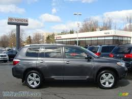 2008 Toyota Highlander Limited 4WD in Magnetic Gray Metallic ...