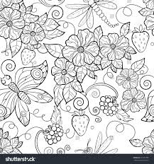 Choose from 5200+ watercolor flowers graphic resources and download in the form of png, eps, ai or psd. Flower Patterns To Print And Color Page 1 Line 17qq Com