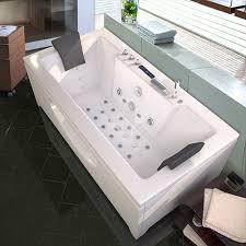 model 6132m 1700 850mm whirlpool bath shower corner spa jacuzzi straight 2 person