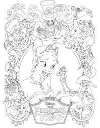 awesome princess tiana coloring pages 5 tiana princess and the