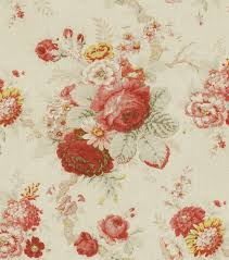 Rose Pattern Fabric