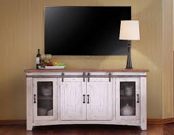 white rustic tv stand. pueblo white stackable tv stands rustic stand t